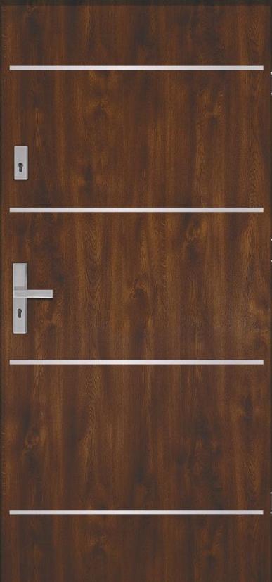 drzwi dodomu aries inox - Drzwi zewnętrzne akustyczne